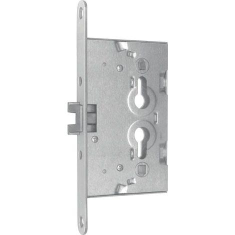 Bever & Klophaus Spezial-Einsteckschloss f. Metalltüren PZW 20/65/72/8mm DIN L/R verz. rd