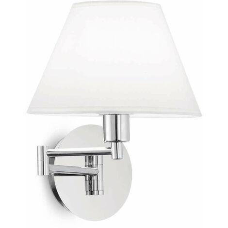 BEVERLY chrome wall light 1 light