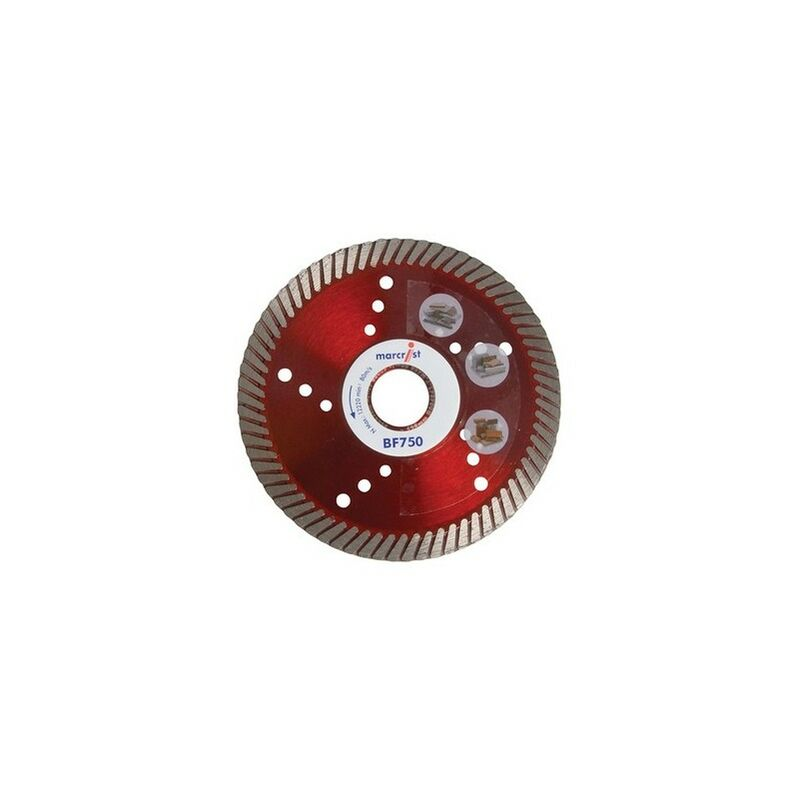 Image of 1126.0115.22 BF750 Diamond Blade Fast Precision Cut 115mm x 22.2mm - Marcrist