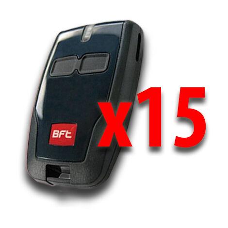 bft 15 x télécommande 2 canaux 433 mhz mitto b d111904