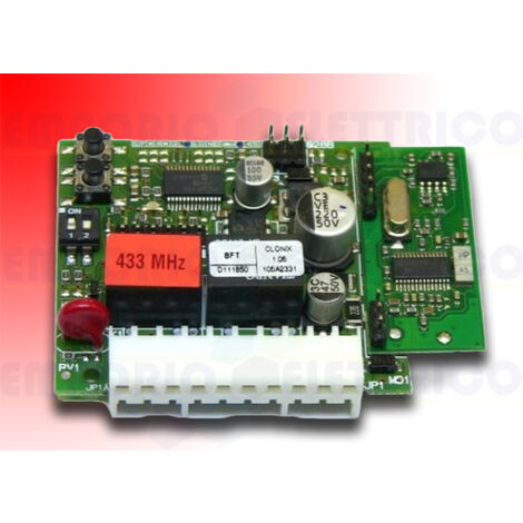 bft 2-channel built-in receiver 433 mhz clonix 2 d111662