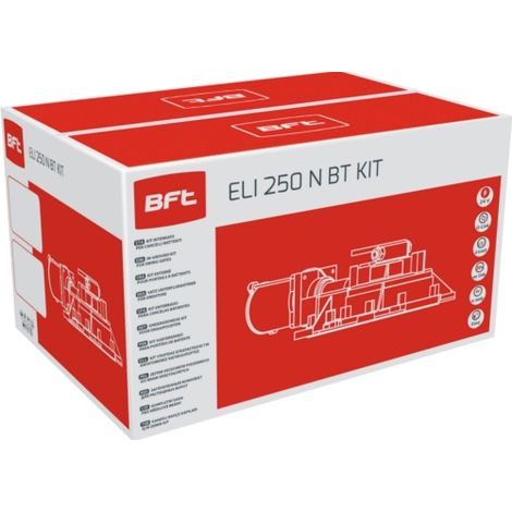 bft automatización eli 250 n bt kit 24v dc r930142 00001