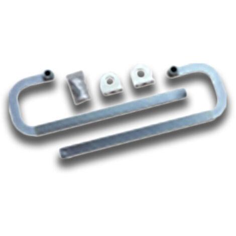 bft bras télescopiques incurvés pour portes basculantes cbac-g n733221