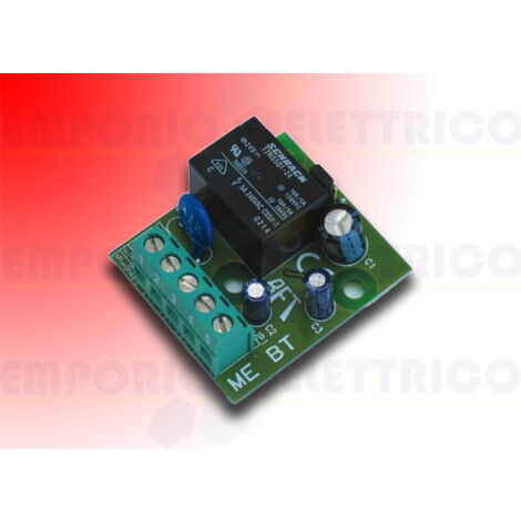 bft card to control electronic locks me bt d111761