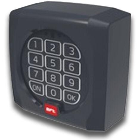 bft clavier numérique wireless q.bo touch 433 mhz p121024 ( ex p121019 )