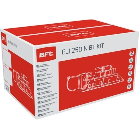 bft kit automatisation eli 250 n bt kit 24v dc r930142 00001