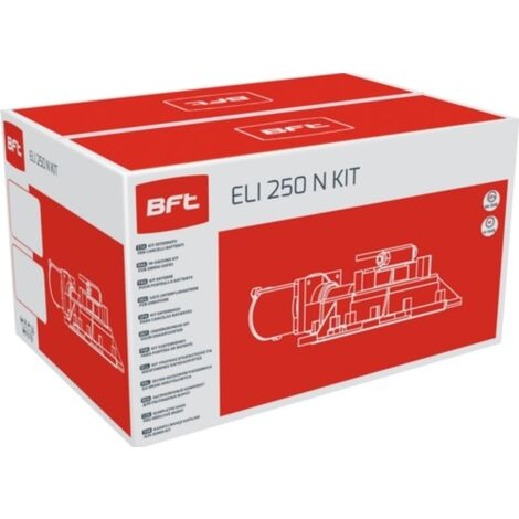 BFT KIT AUTOMATISATION ELI 250 N KIT 230V AC R930143 00001