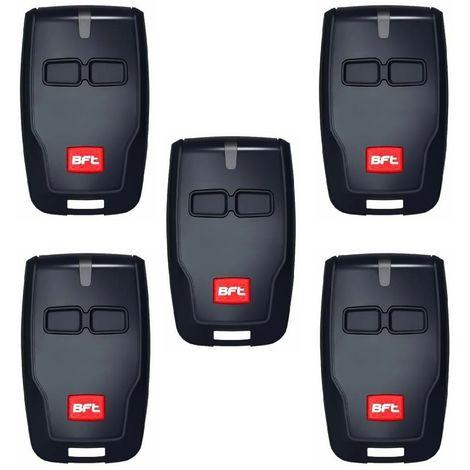 BFT Mitto B RCB02 R1 Telecommande a 2 canaux, 433,92Mhz Rolling Code, La nouvelle version de BFT Mitto2. 5 PIECES. 8027908410092