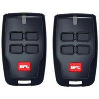 BFT Mitto B RCB04 R1 Telecommande a 4 canaux, 433,92Mhz Rolling Code, La nouvelle version de BFT Mitto4. 2 PIECES. 8027908410139