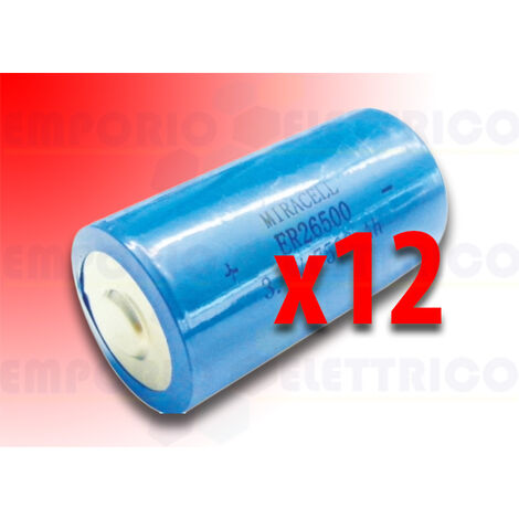 bft pack of 12 batteries for photocells safety edge dcw bat n999465
