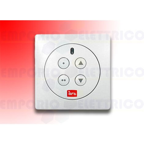 bft wall 4-channel remote control mime pad rb p121028 (ex p121016)