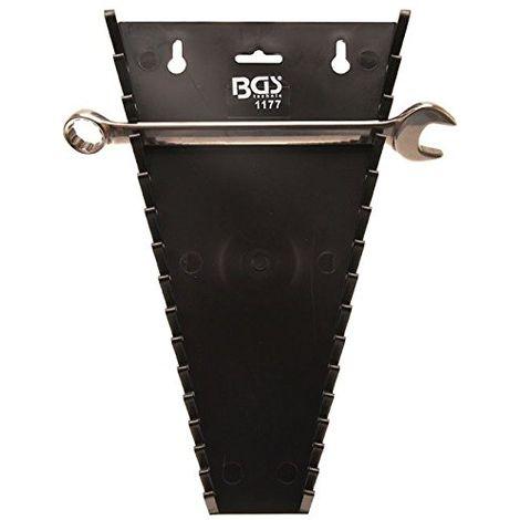 BGS 1177 supporto in plastica 15 posti per chiavi combinate fisse stella