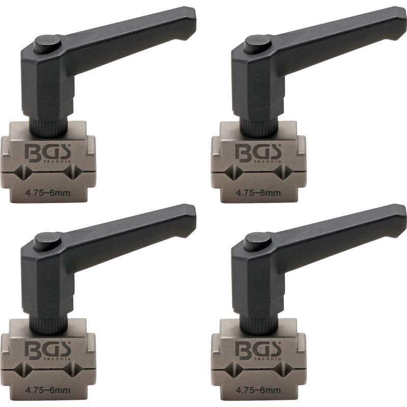 BGS technic Kit de colliers de tuyaux de freins   4,75 mm (3/16')   4 pièces
