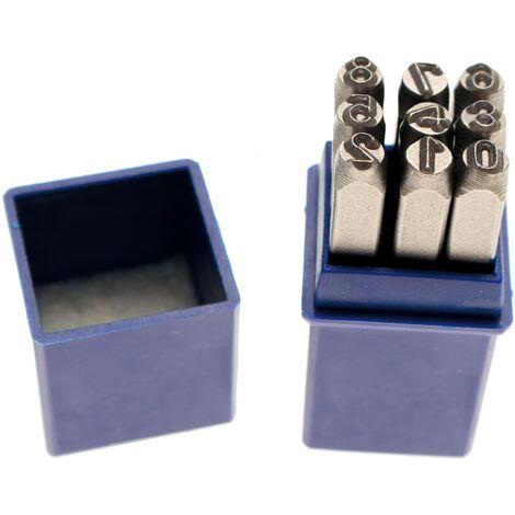 BGS CHIFFRES A FRAPPER JEU DE 9 CHIFFRES - choisissezici : 12 mm