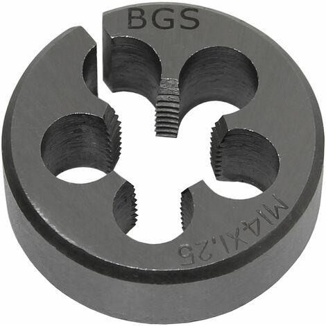 BGS technic Gewindeschneideisen | M14 x 1,5 x 38 mm