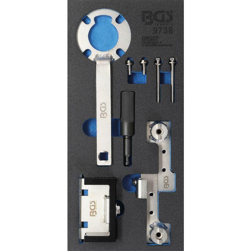BGS technic Insert de servante d'atelier 1/3 : Coffret de calage | pour Ford 2.5, Volvo 1.6 - 2.5 & 2.4D