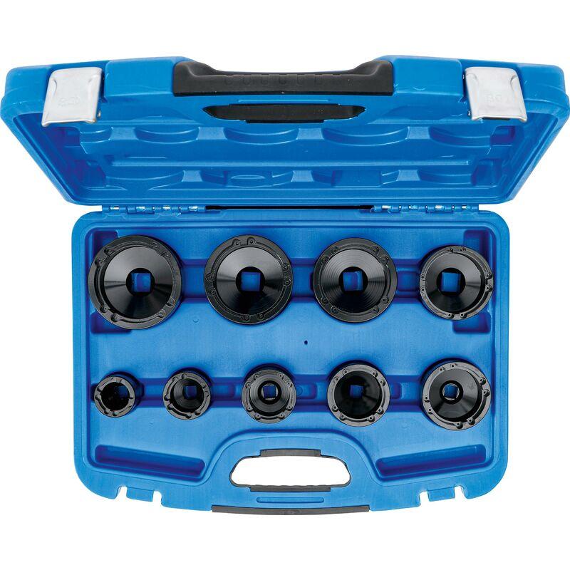 BGS technic Jeu de clés à écrous   pivot intérieur   KM4 - KM12   9 pièces