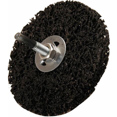BGS technic Muela abrasiva | negro | Ø 100 mm | agujero de sujeción 16 mm