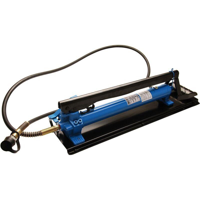 Pompe hydraulique à pied doubles pistons - Bgs Technic