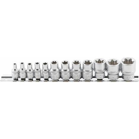 Steckschlüssel-Einsatz SW 12 mm 1//4 Stecknuss Biteinsatz Sechskant Nuss BGS