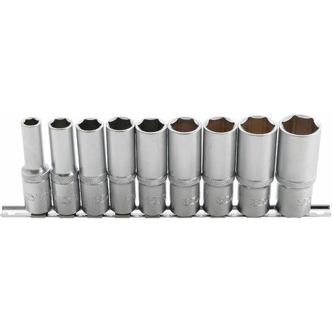 Kraft-Einsatz 12,5 tief 16 mm Schlagschrauber-Nuss Kraft-Nuss BGS 1//2