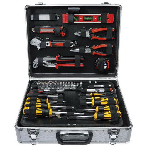 BGS Toolbox - Maletín de aluminio - 129 piezas - 2204