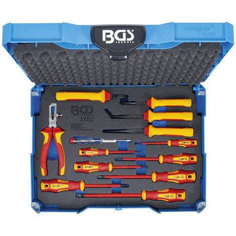 BGS VDE-Zangen-/Schraubendrehersatz im BGS-Systainer 13-tlg. UVP 198,02€