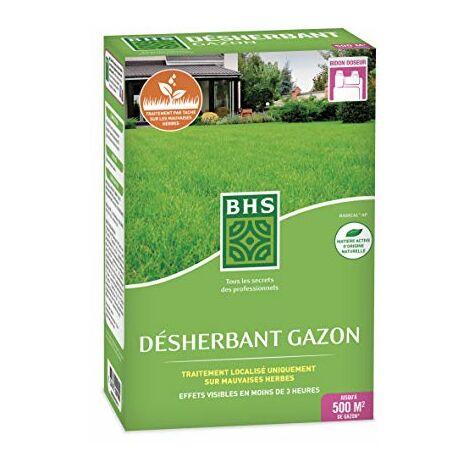 BHS DG200 Desherbant Gazon | 225 ML | Soit 500 m² | Liquide | | Action Express, Fabriqué en France