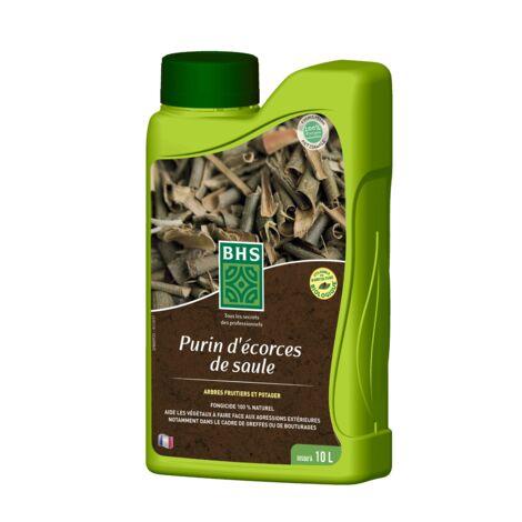 BHS PES1 Purin Ecorces De Saule | 1 L | Soit 15 L | Liquide | Substance De Base Fongicide sur Pommiers | Fabriqué en France