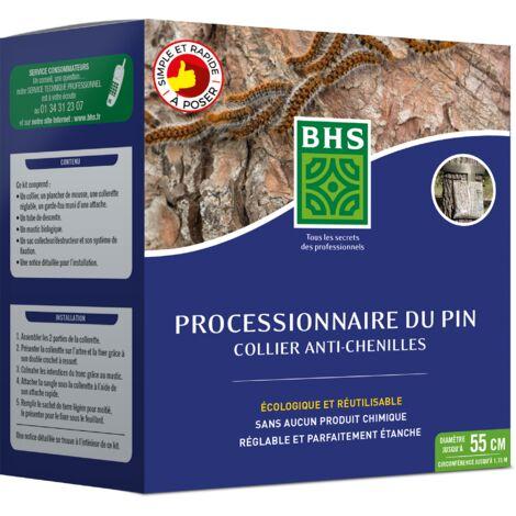 """main image of """"BHS PIPP55 Collier Processionnaire du Pin   1 Piège   Piégeage Et Elimination Massive sans Contact avec La Chenille Et Ses Projections Urticantes"""""""