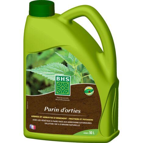 BHS PORT2 Purin Orties   2,5 L   Soit 50 L   Liquide  100% d'Origine Naturelle   Fabriqué en France