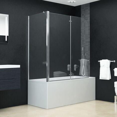Bi-Folding Shower Enclosure ESG 120x68x130 cm