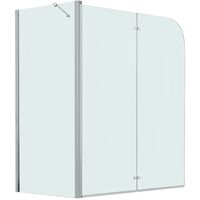 Bi-Folding Shower Enclosure ESG 120x68x130 cm
