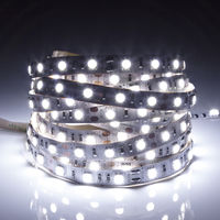 Biard 5m 12V 5050 LED Strip Light - Cool White - IP20 Non-Waterproof