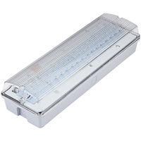 Biard 7.5W LED Green Emergency Exit Sign Bulkhead