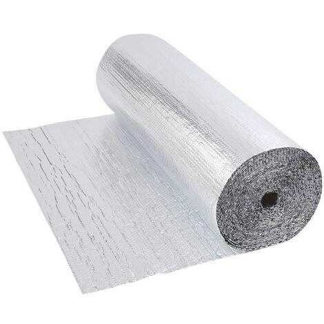 Biard Aluminium Luftpolsterfolie - Isolierungsfolie Wärmedämmung Schalldämmung