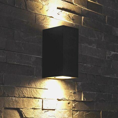 """main image of """"Biard Architect - Applique Extérieure Murale - LED GU10 - Économique - Jardin - Black"""""""