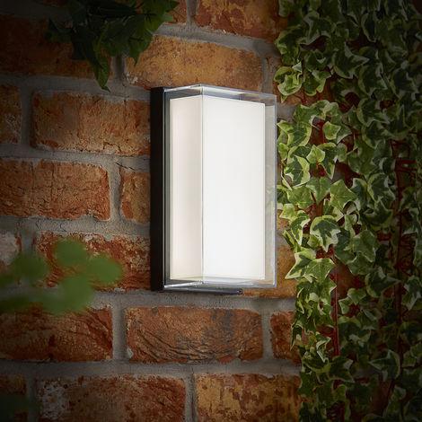 Biard Asti – Applique Murale D'Extérieur LED – Anthracite ou Noir