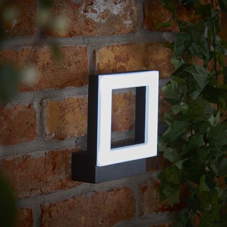 Biard Ivrea – Applique Murale d'Extérieur – Anthracite ou Noir