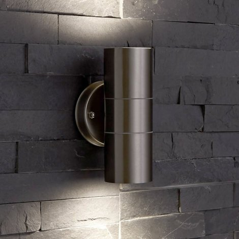 Fantastic Biard Le Mans Round Ip44 Double Up Down Indoor Outdoor Wall Light Wiring 101 Ferenstreekradiomeanderfmnl