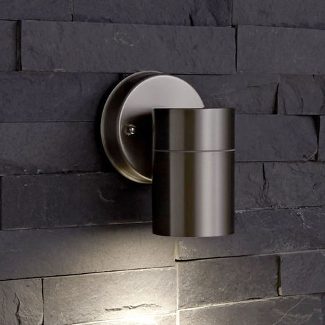Biard Le Mans Up or Down Wall Light with GU10 Fitting - Outdoor Indoor Garden IP44 Waterproof