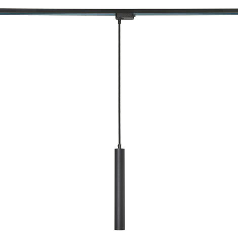 Biard Liv 5W LED Black Round Track Light Pendant - Kitchen, Retail, Dining Room