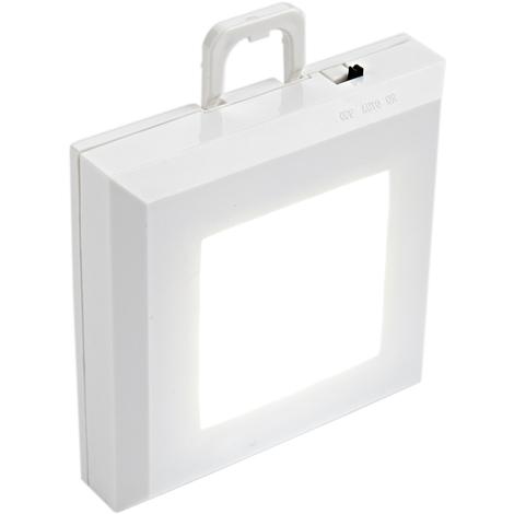 Biard - Lumière Tiroir LED Carrée - 76x 76x 20mm - Blanc Froid - Luminaire Intérieur