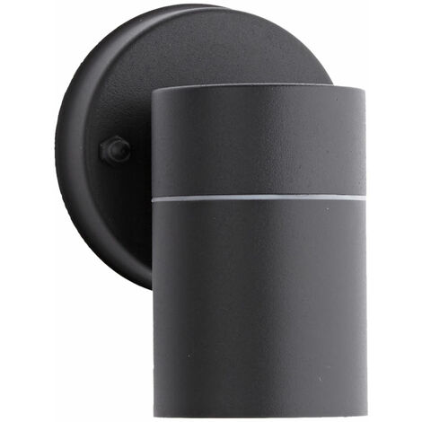 Biard Matte Black Outside Down Spotlight IP44 Outdoor Wall Light Garden Porch
