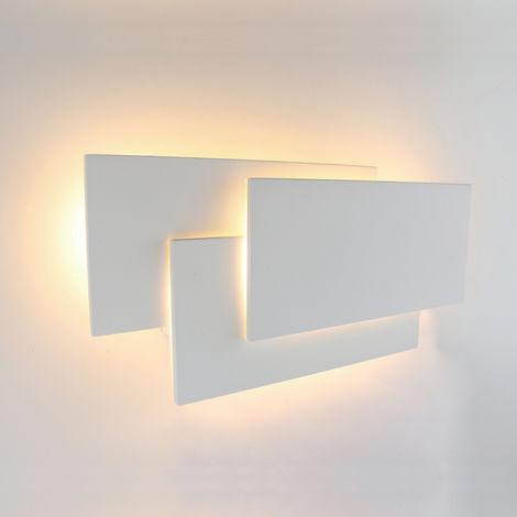Biard Piran Applique LED 12W Per Interni – Lampada Da Parete Bianca ...