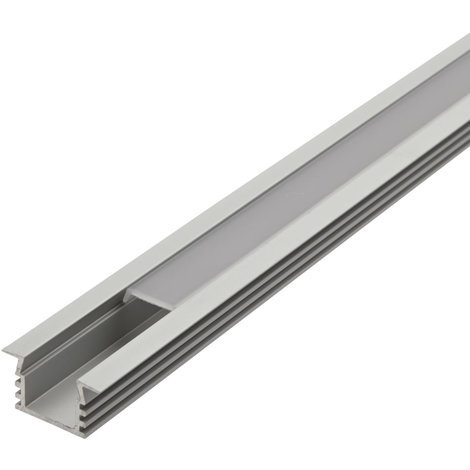 Biard Recessed Finned Aluminium Profile