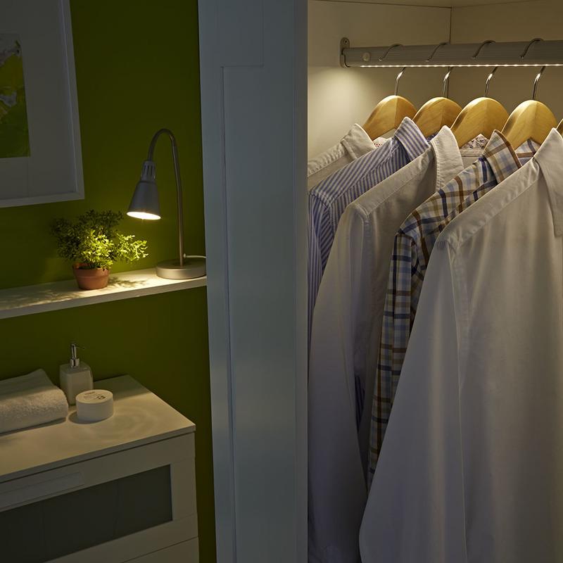 Placard Réglette Biard® 1w Capteur Blanc Led 4 1m Dressing Pir mN8vwn0O