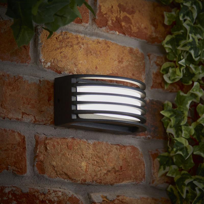 Biard soria applique da parete led integrato 6w bianco naturale ip65