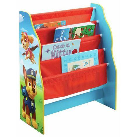 Bibliothèque enfant motif Pat Patrouille - Dim : H60 x L51 x P23 cm -PEGANE-