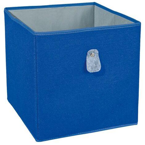 Biboxx - Bac de Rangement Bleu
